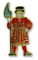 Beefeater pin badge