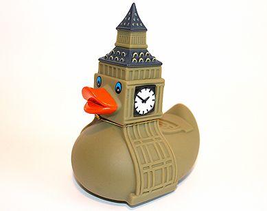 Big Ben rubber duck