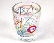 London Underground shot glass