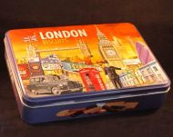 London biscuit selection