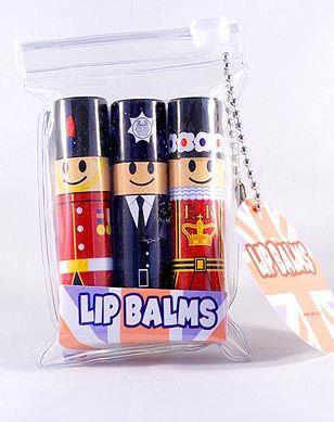 3 novelty lipbalms
