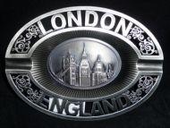 Landmarks metal ashtray