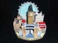 Historic London resin ornament