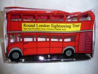 Double decker bus pencil case